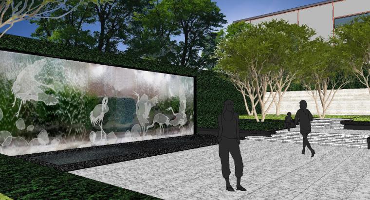 [重庆]知名企业椿山现代示范区景观模型-龙湖椿山现代风格示范区景观模型设计 (10)