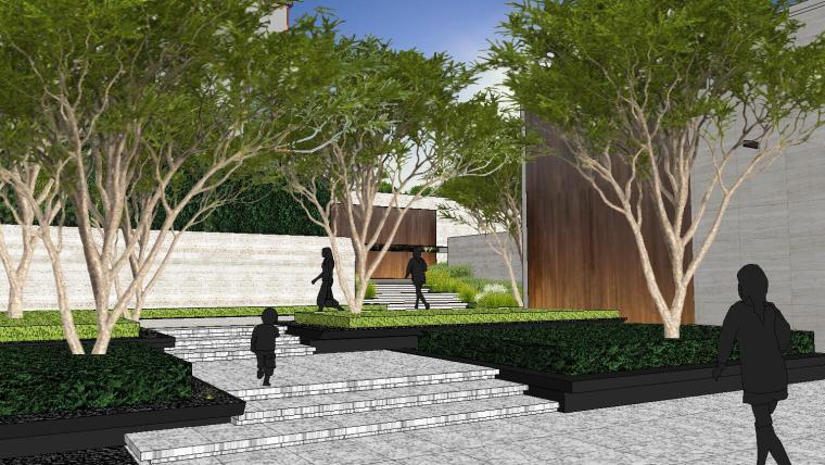 [重庆]知名企业椿山现代示范区景观模型-龙湖椿山现代风格示范区景观模型设计 (11)