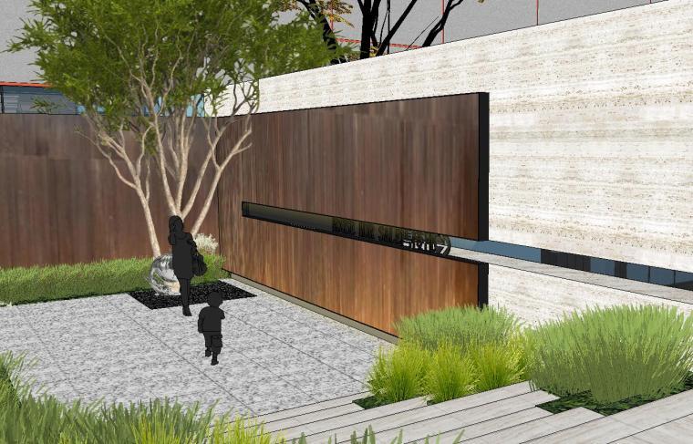 [重庆]知名企业椿山现代示范区景观模型-龙湖椿山现代风格示范区景观模型设计 (13)
