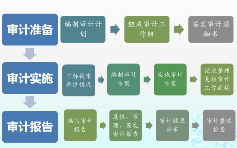工程投资项目审计目标、范围、程序-审计程序
