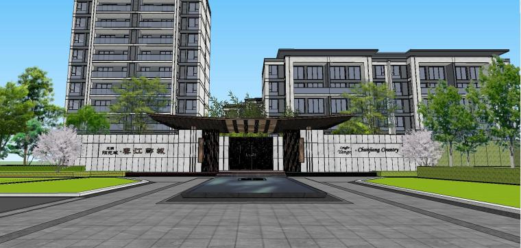 [福建]知名企业春江郦城示范区景观模型-知名企业春江郦城示范区景观模型 (16)