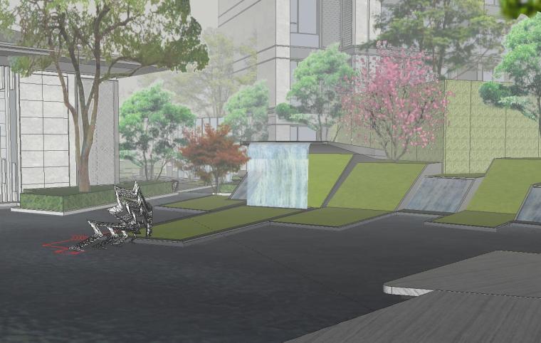 [福建]知名企业春江郦城示范区景观模型-知名企业春江郦城示范区景观模型 (4)
