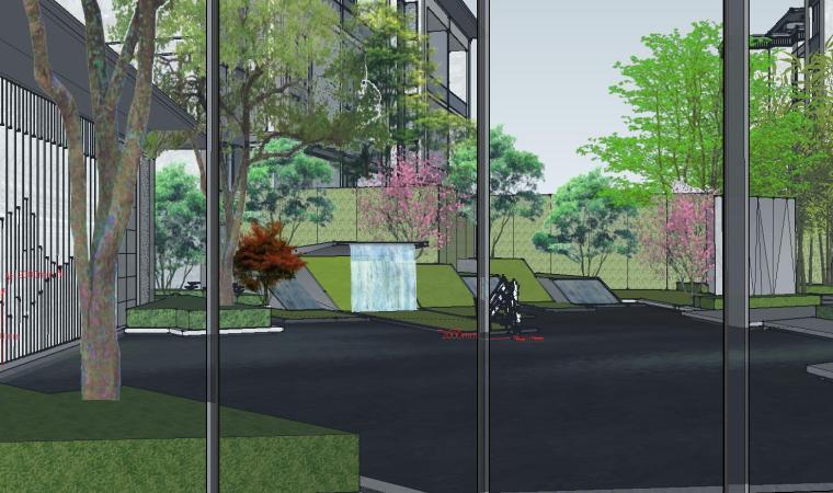[福建]知名企业春江郦城示范区景观模型-知名企业春江郦城示范区景观模型 (2)