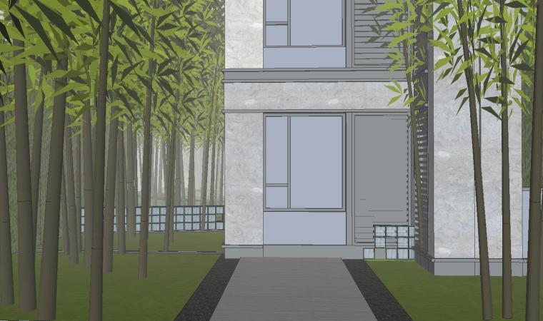 [福建]知名企业春江郦城示范区景观模型-知名企业春江郦城示范区景观模型 (3)