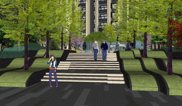 [重庆]龙湖紫云台新古典示范区景观模型设计-龙湖紫云台新古典示范区景观模型设计 (15)