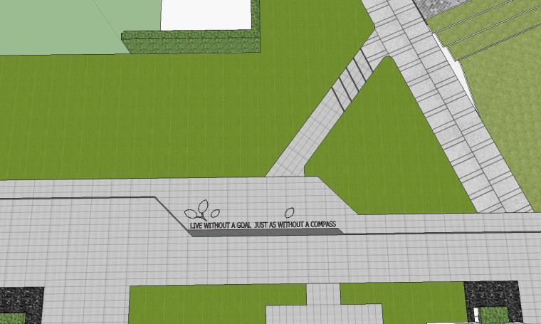 知名企业开元新中式风格洋房景观SU模型设计 (6)