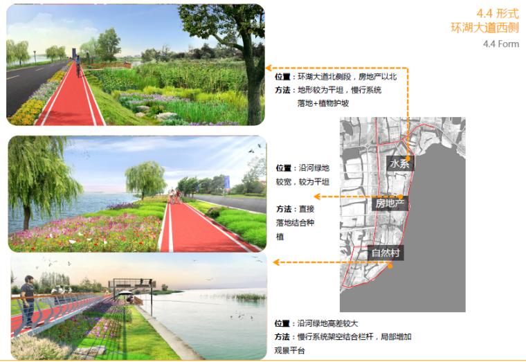 [江苏]昆山旅游度假区滨湖慢行系统设计方案-环湖大道西侧效果图