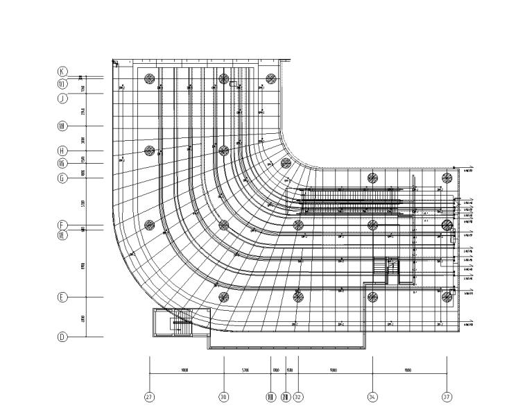 上海虹桥商务区电气装饰深化设计图(2017)-N2楼一层照明平面图