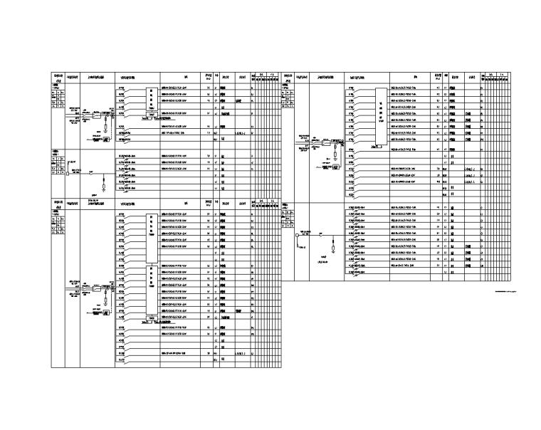 上海虹桥商务区电气装饰深化设计图(2017)-九层应急照明平面图