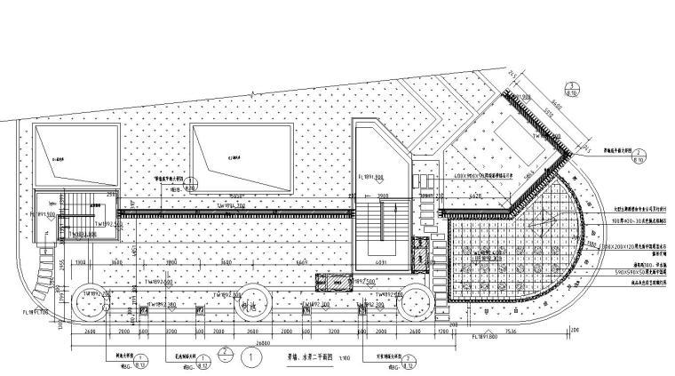 主入口景墙、水景详图设计-主入口景墙、水景详图设计 (1)
