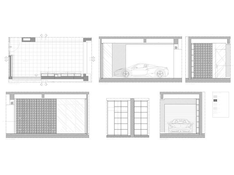 [成都]麓湖生态城二层四居别墅样板间施工图-别墅立面图2
