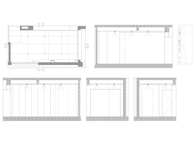 [成都]麓湖生态城二层四居别墅样板间施工图-别墅立面图3