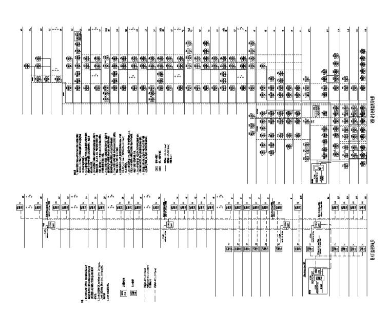 北京13万平金融中心电气智能化水暖施工图-弱电系统图