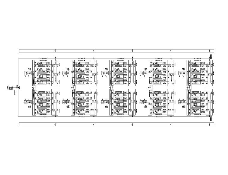 上海金融中心全套施工图(建筑结构水暖电)-D1楼垂直配电干线系统图(二)