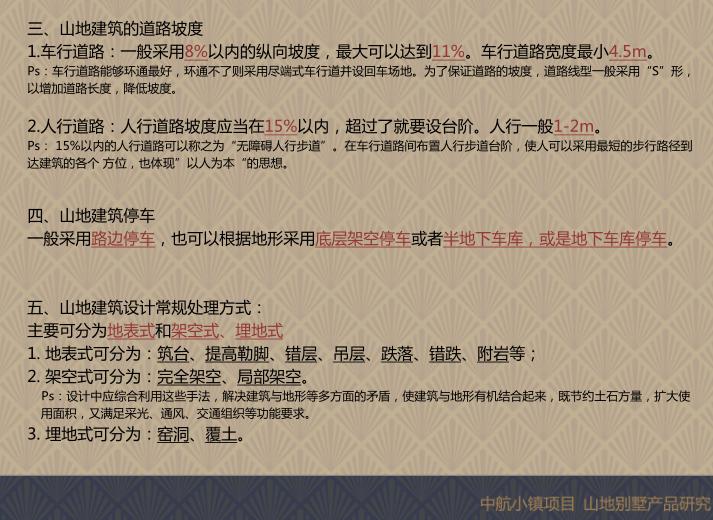 重庆中航小镇山地别墅研究_爬坡错叠别墅5