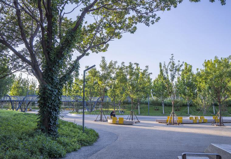 北京西长安街文化艺术公园实景图5