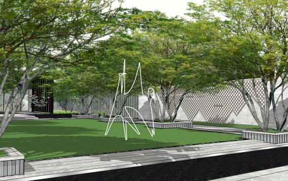[云南]昆明环湖路主题示范区景观概念设计-效果图2