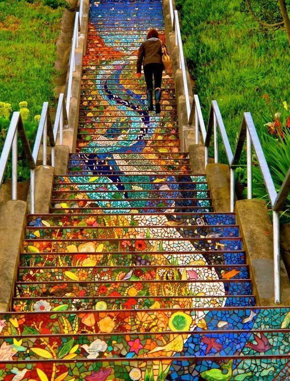 景观台阶的设计策略,来探索!_24