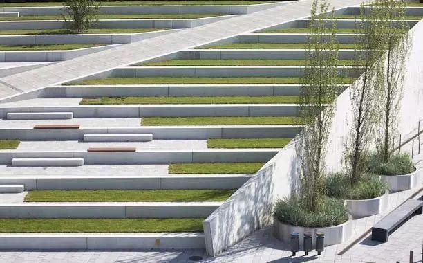 景观台阶的设计策略,来探索!_45