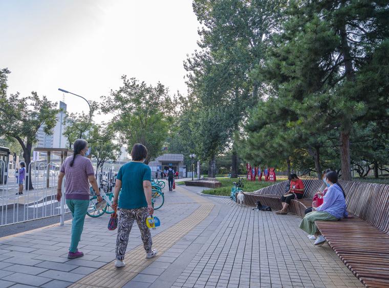 北京西长安街文化艺术公园实景图22