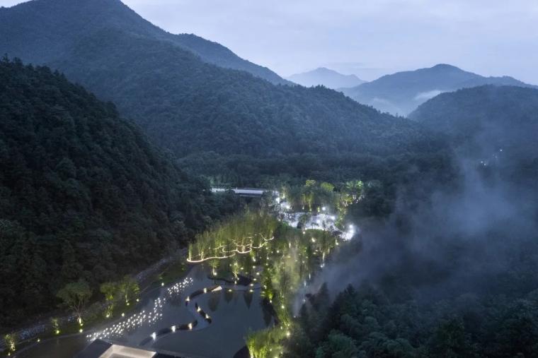安徽池州·九华山示范区景观实景图