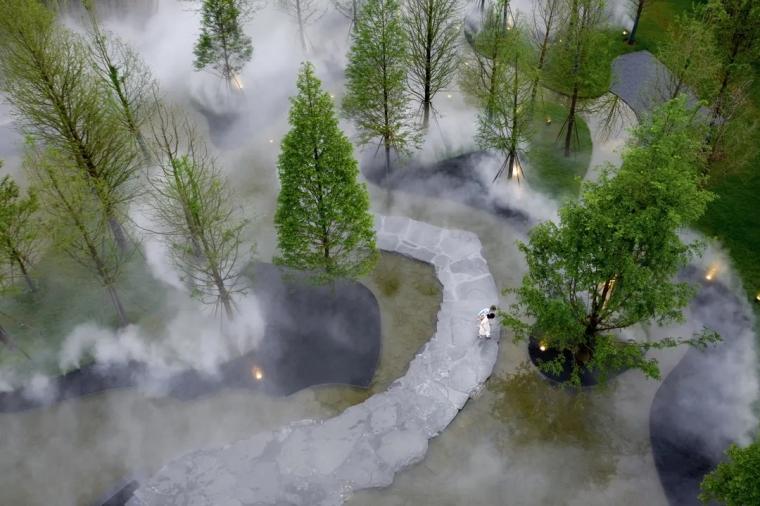 安徽池州·九华山示范区景观实景图2