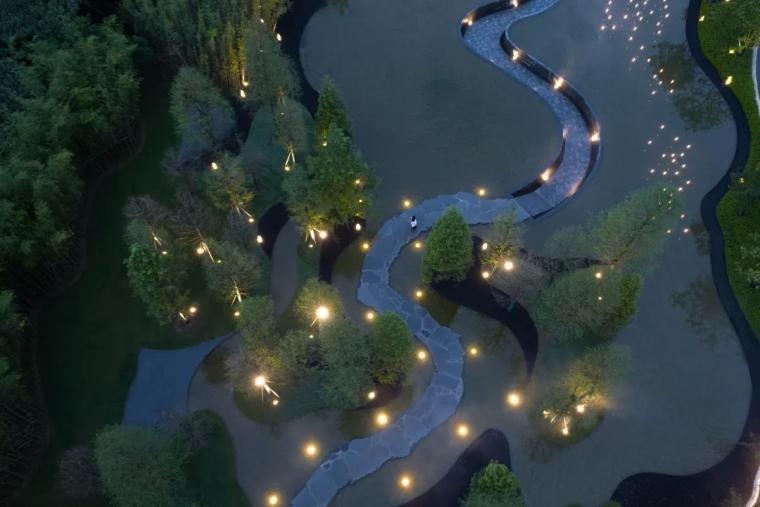 安徽池州·九华山示范区景观实景图9