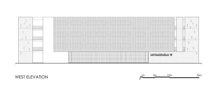 摩洛哥OCP社会教育中心立面图2