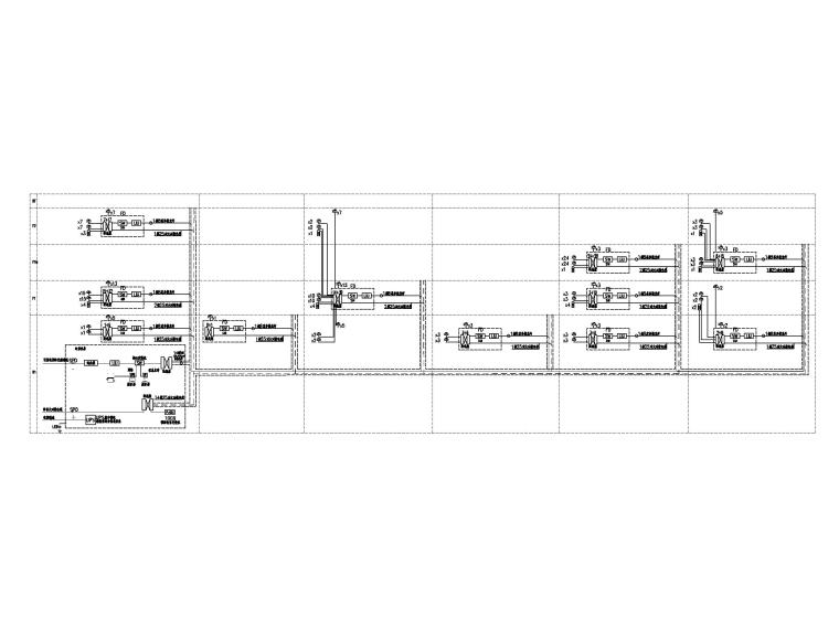 [山东]1.6万平美术馆电气施工图(2016)-6综合布线系统图