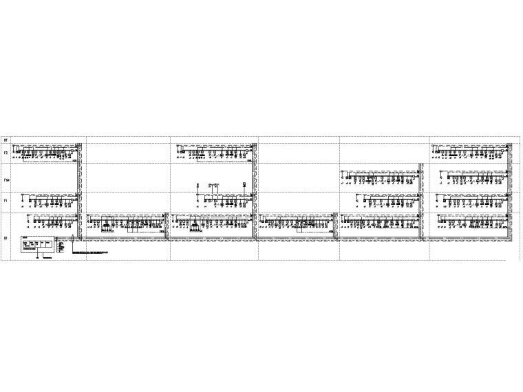 [山东]1.6万平美术馆电气施工图(2016)-5消防报警及联动控制系统图