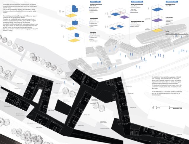 18套国外居住区创意竞赛获奖作品排版展板-18套国外居住区创意概念竞赛获奖作品排版展板6