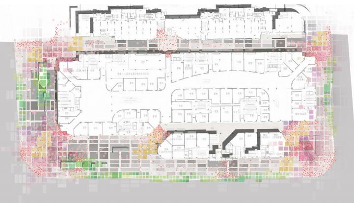 [浙江]杭州商业街广场及屋顶花园景观设计-色彩控制