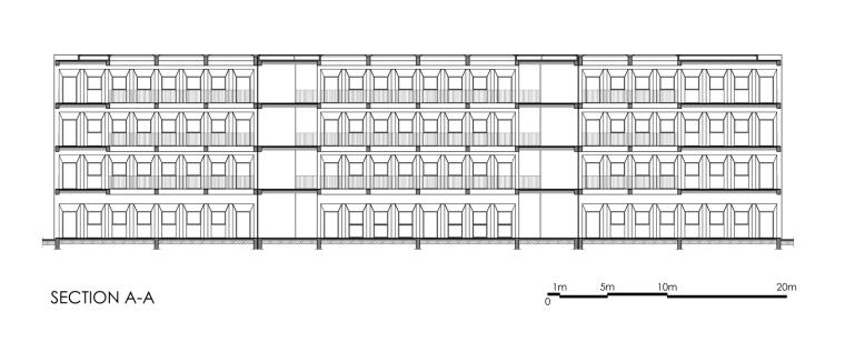摩洛哥OCP社会教育中心剖面图