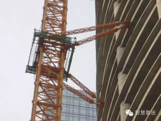 收藏!塔吊基础到附着限位安全装置检查_12