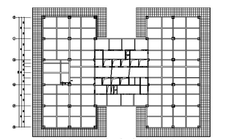 23层办公楼工程水平防护施工方案-03 水平防护布置图