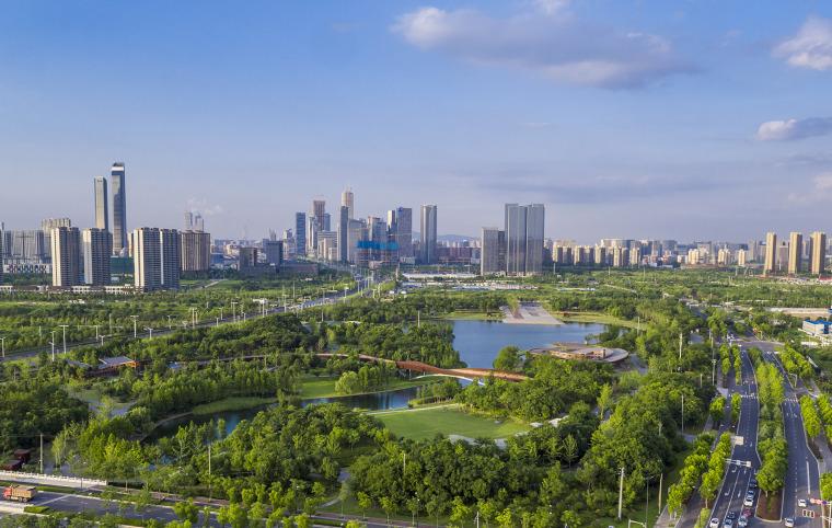 南京河西生态公园实景图