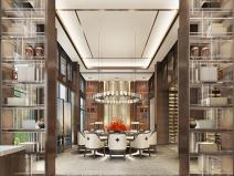 成都新中式别墅四合院3D模型+CAD平面图