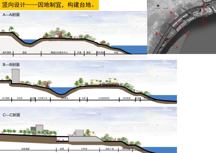 湘潭窑湾文化旅游街区修建性详细规划设计-竖向设计