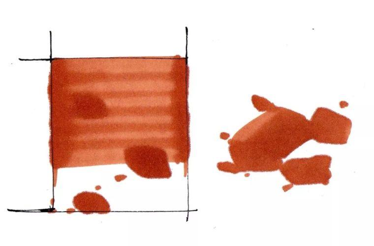 五分钟教会你,园林景观手绘马克笔上色技法_11