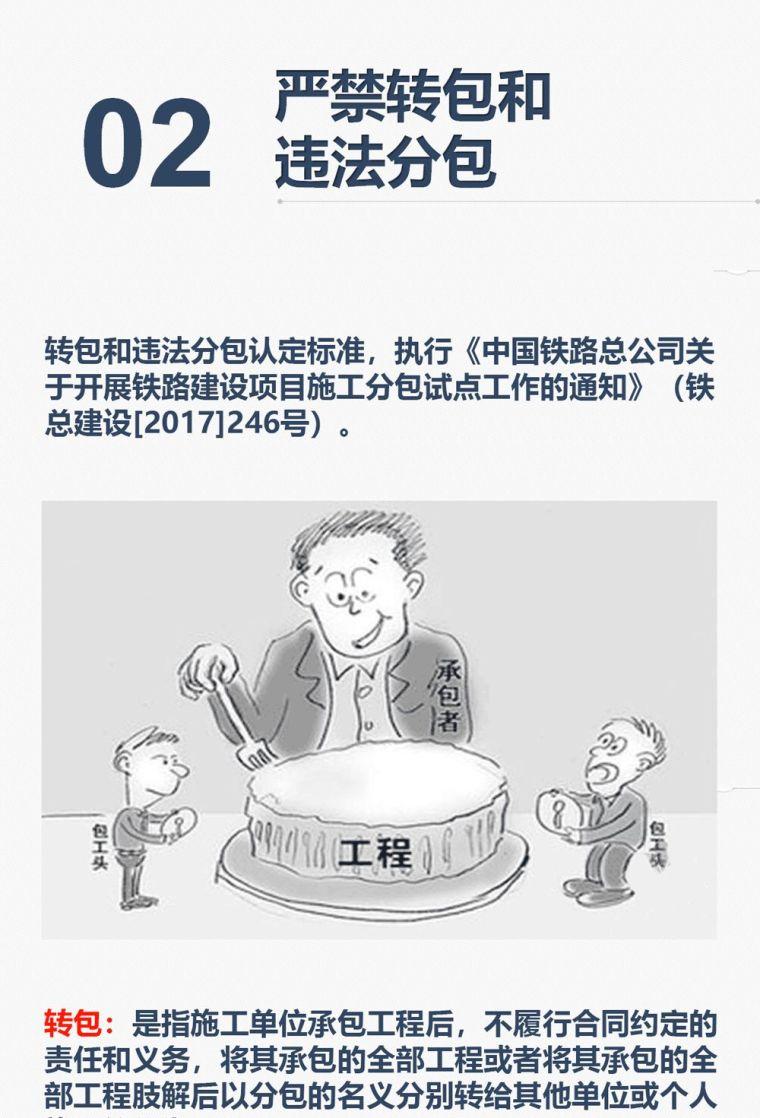 中铁《质量安全管理十严禁》,图解学习!_3
