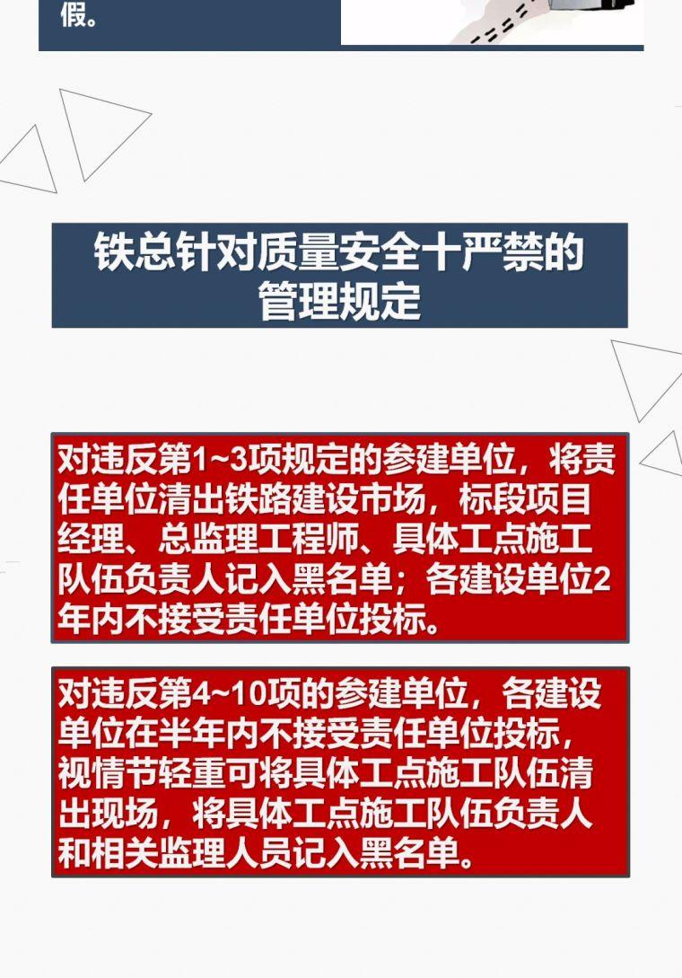 中铁《质量安全管理十严禁》,图解学习!_20