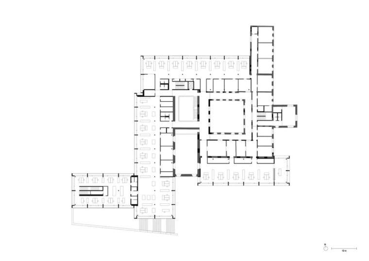 JacobyStudios,17世纪修道院遗址当代呈现_12