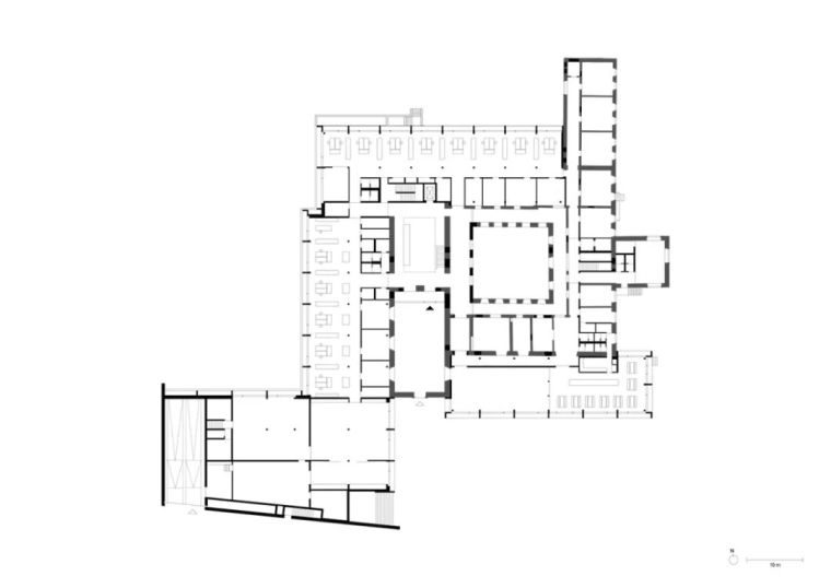 JacobyStudios,17世纪修道院遗址当代呈现_11