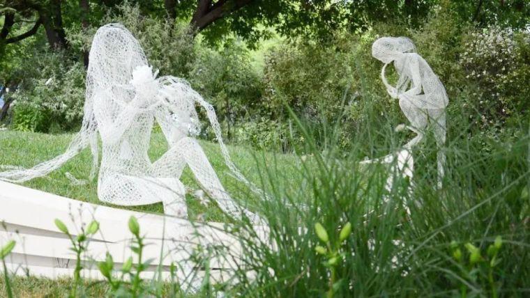 雕塑装置,景观中的点睛之笔_8