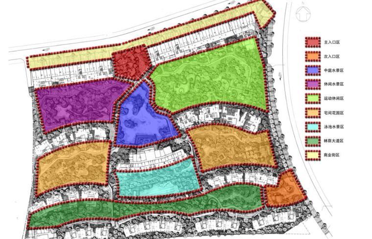 现代风情自然住宅景观概念方案设计 (2)
