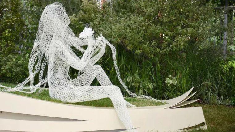 雕塑装置,景观中的点睛之笔_10