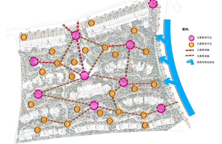 现代风情自然住宅景观概念方案设计 (4)