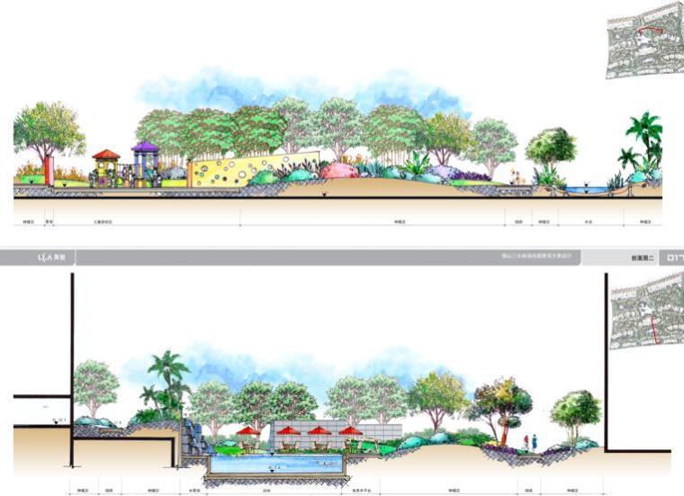 现代风情自然住宅景观概念方案设计 (6)