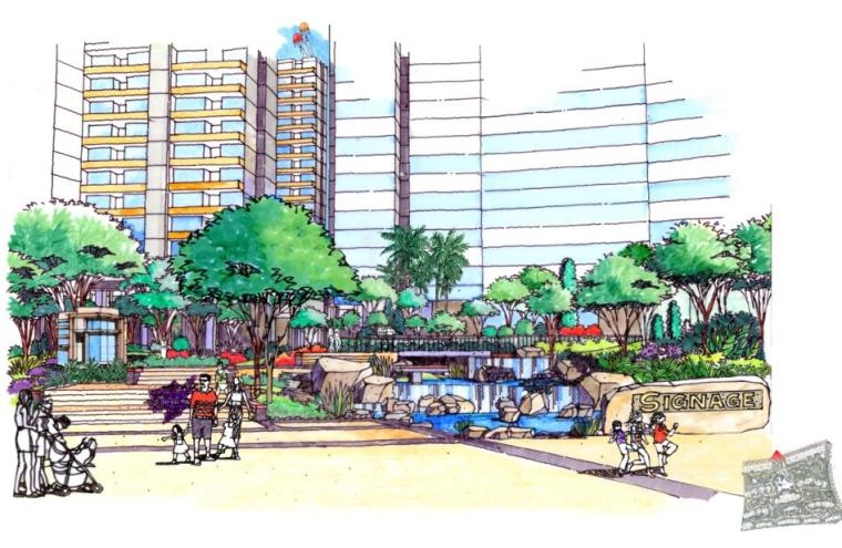 现代风情自然住宅景观概念方案设计 (7)