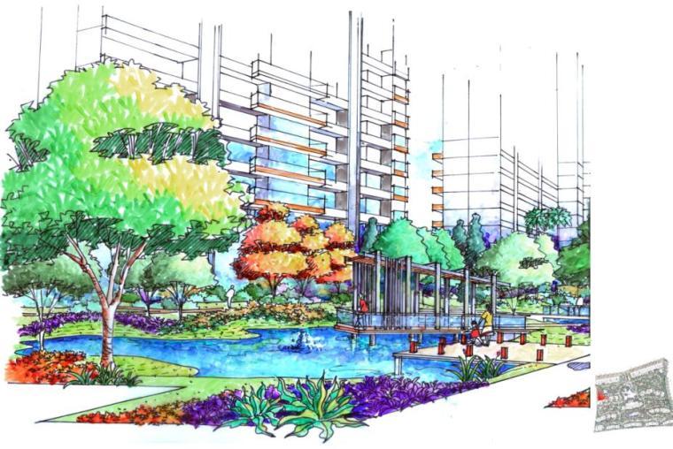 现代风情自然住宅景观概念方案设计 (8)